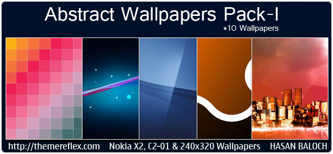 Abstract Wallpapers Pack for all Nokia, Sony Ericsson, Samsung and Other 240×320 Screen Resolution Devices
