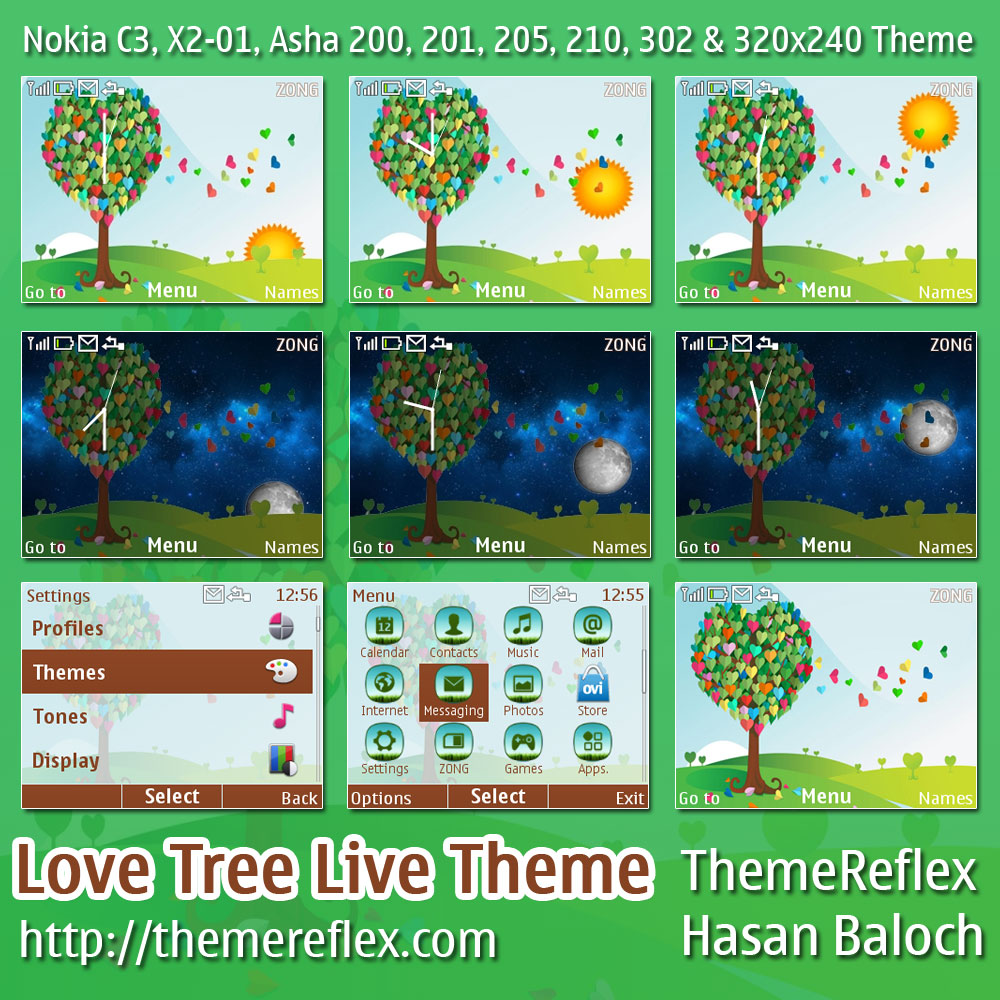 Love-Tree-C3-theme-by-hb