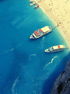 Summer-Boats-240x320-Wallpaper