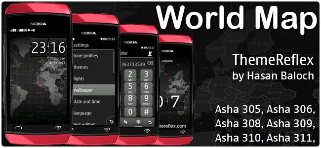 World Map Theme – ThemeReflex
