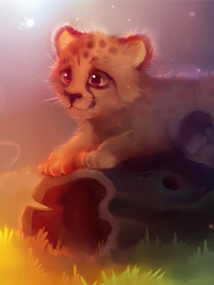Cute-Cheetah-Wallpaper