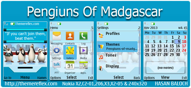 Pengiuns-of-madgascar-X2-theme-by-hb