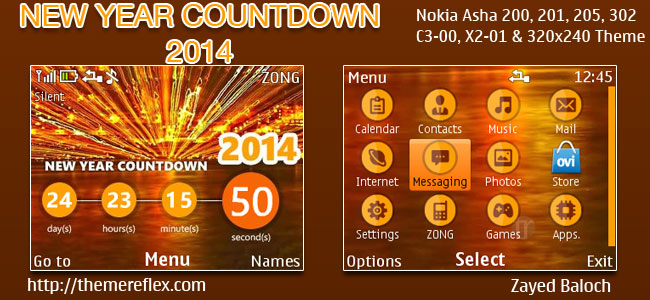 New-Year-2014-C3-theme-by-zb
