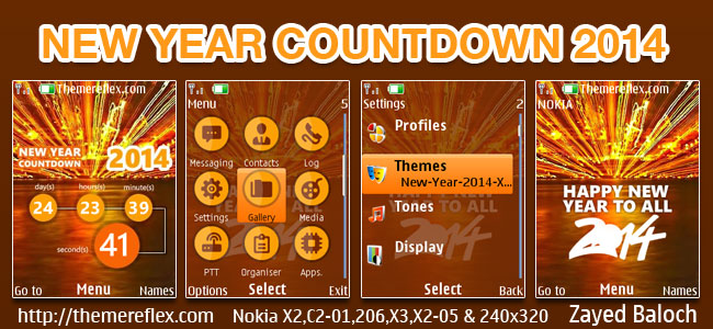 New-Year-2014-X2-theme-by-zb