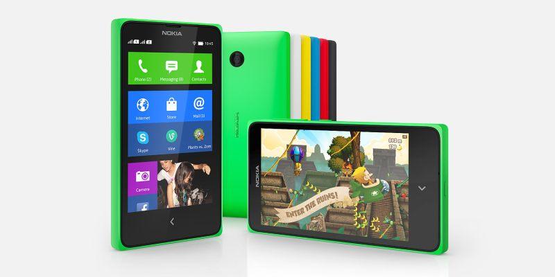 Nokia X: Xtraordinarily Xcellent family