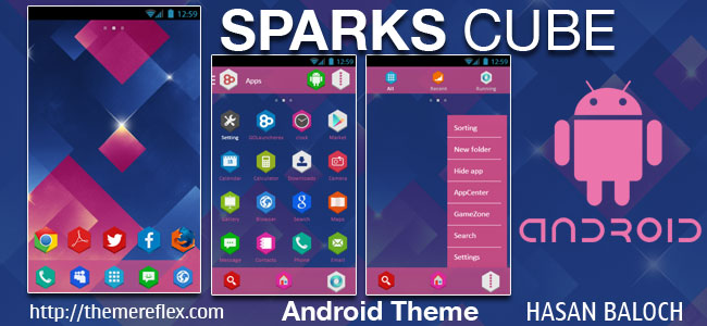 Sparks-Cube-android-theme-by-hb