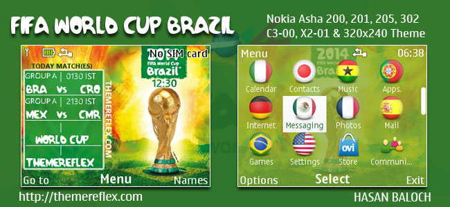 Worldcup 2014 Themes