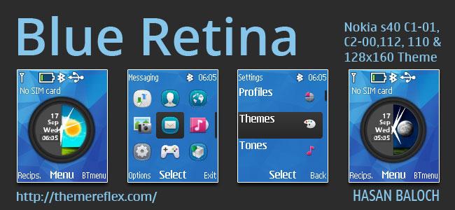 Blue Retina Theme