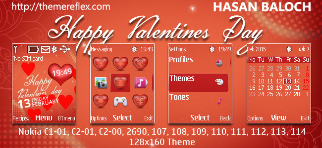 Valentines Day Themes