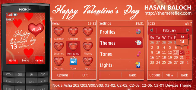 Valentines Day Theme