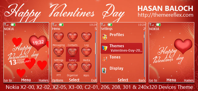 Valentines Day Themes for Nokia
