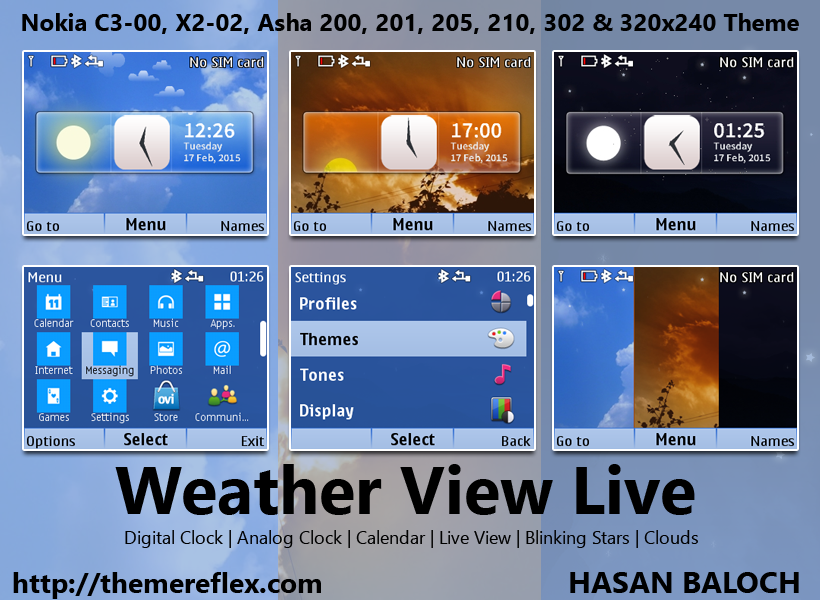 Weather View Live Themes