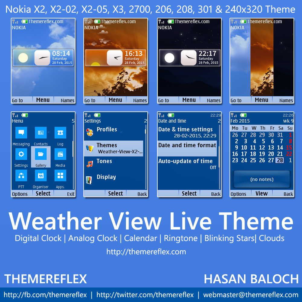 Google themes nokia x2