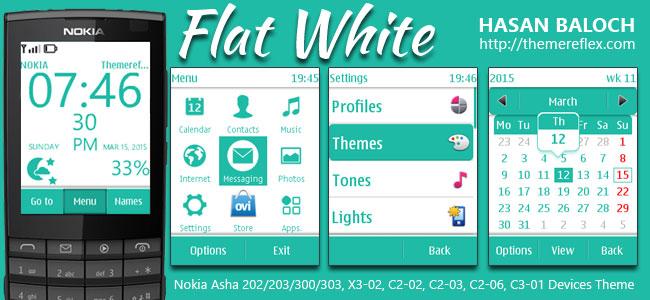 Flat White Theme