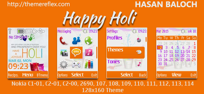 Holi Themes