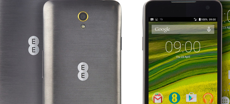 EE launches two new affordable smartphones with 4G and Wi-Fi devices