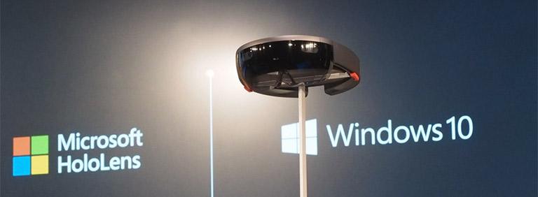 Highlight on 'Microsoft HoloLens'