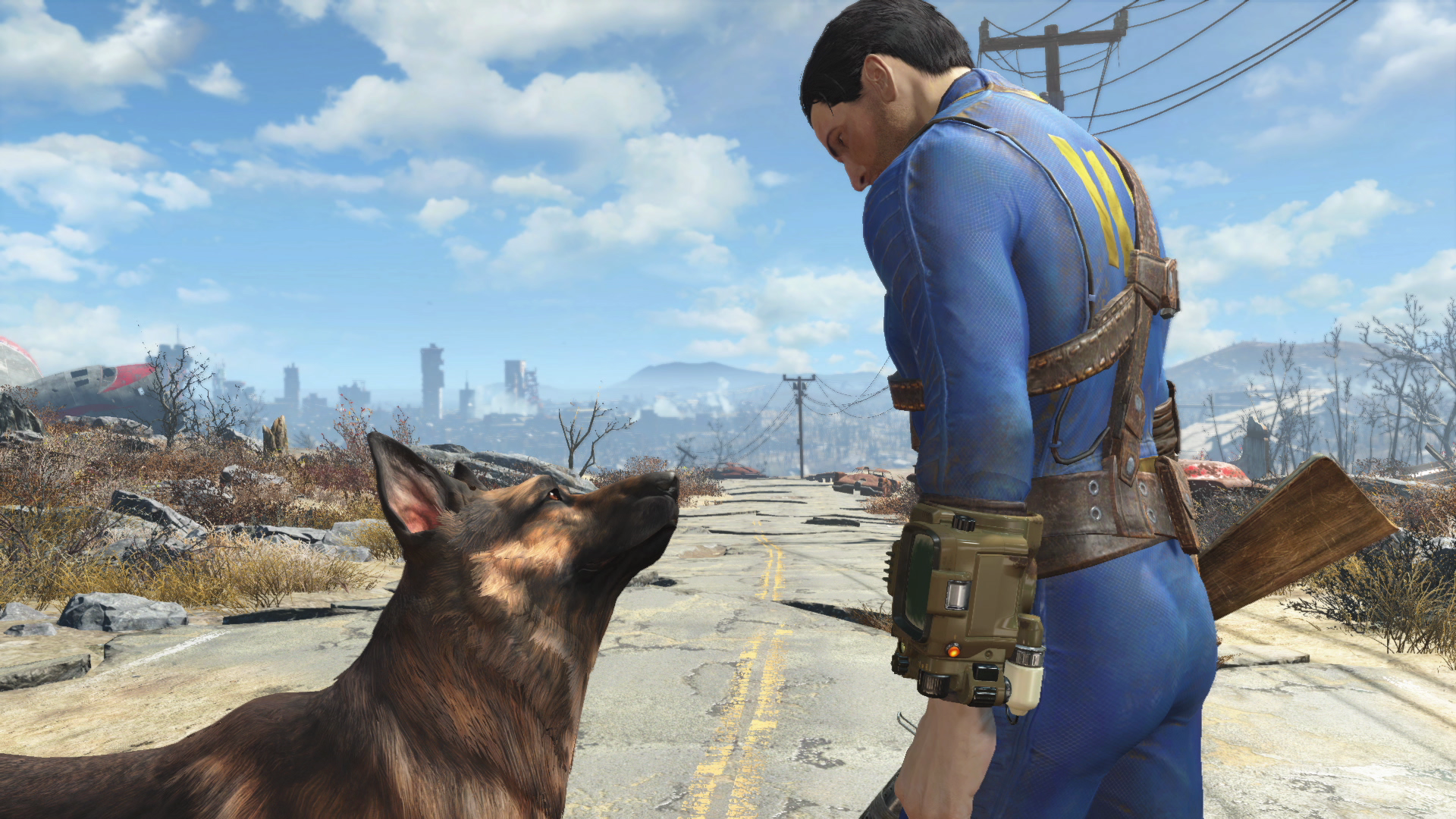 Fallout 4 is coming out this year on PS4, XboxOne and PC