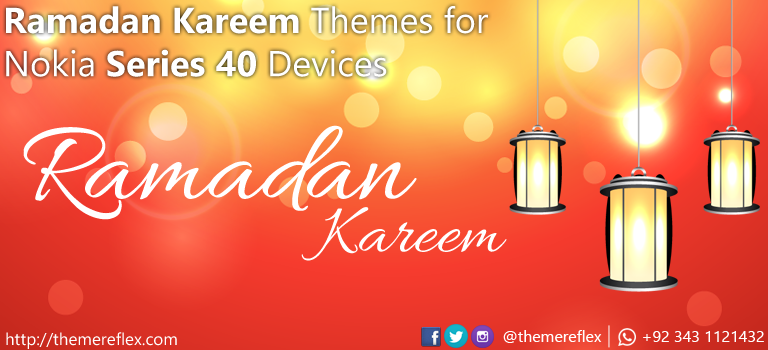Ramadan Kareem Themes for Nokia Series 40 Devices