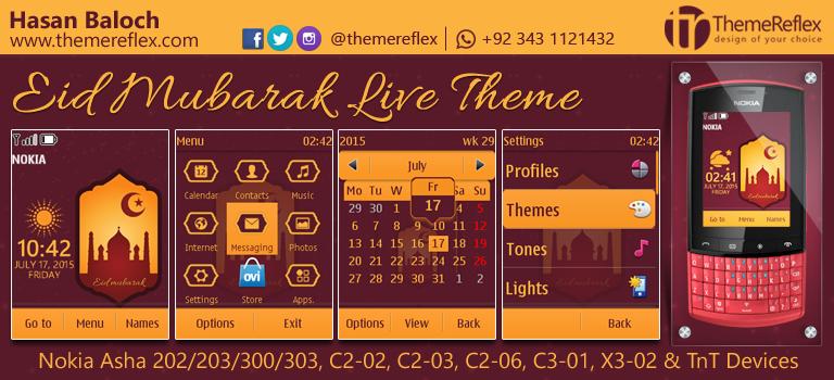 Nokia Eid Mubarak Themes