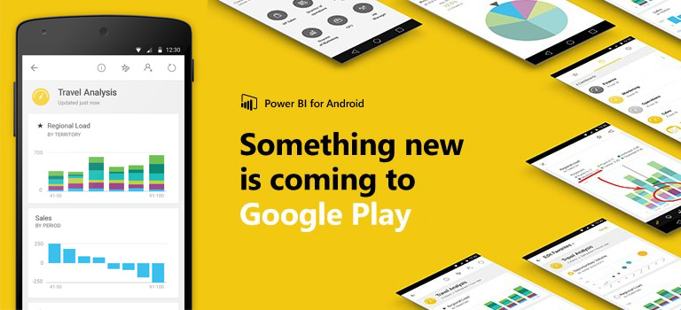 Microsoft Power BI app for Android is now available on Google Play