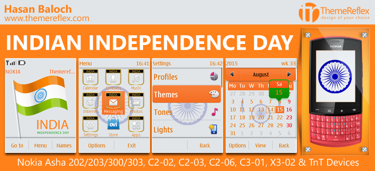 India Independence Day Themes