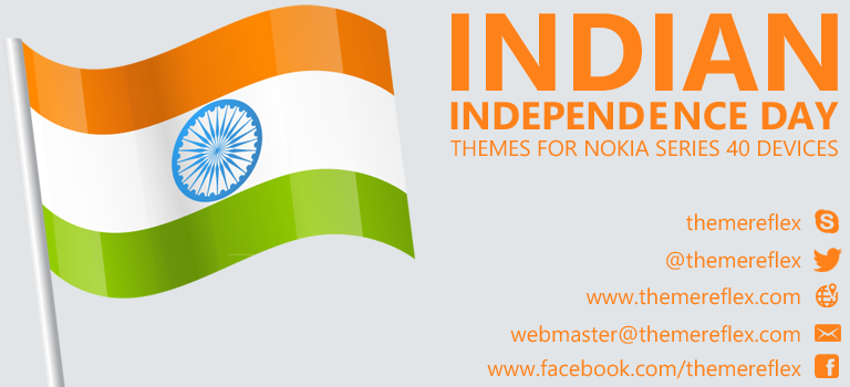 Indian Independence Day Themes for Nokia Series 40 Devices