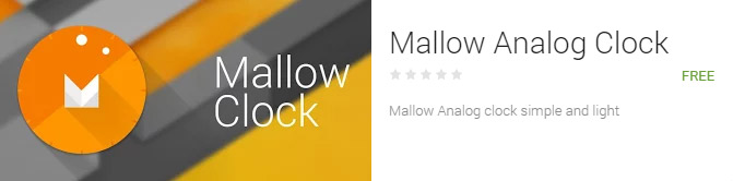 mallow-android-widget