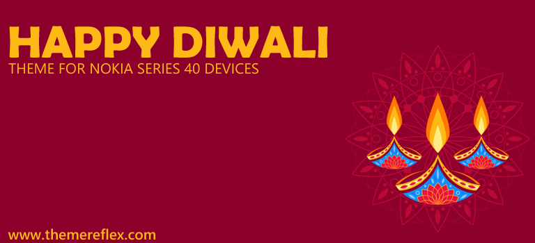 Happy Diwali 2015 Theme for Nokia Series 40 Devices