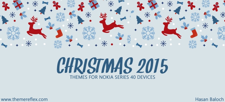 Christmas 2015 Themes for Nokia Series 40 Devices