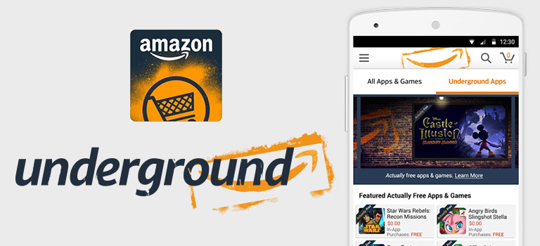"""Actually Free"" Apps and Games from Amazon Underground App Store"