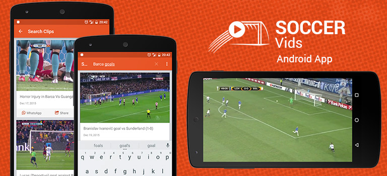Soccer Vids – Watch your interesting moment from your favorite game (Updated)