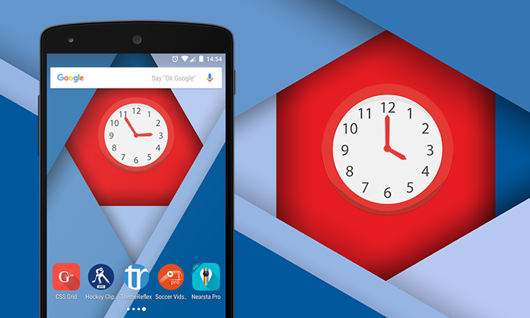 multicolor-clock-android-widget-themereflex-f1