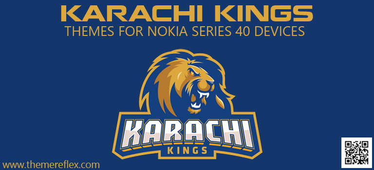 Karachi Kings Themes for Nokia Series 40 Devices