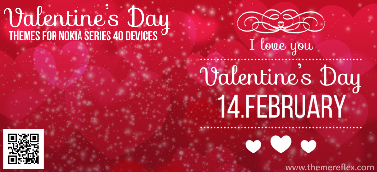Valentine's Day Themes for Nokia Series 40 Devices
