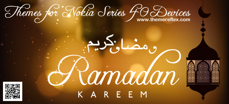 Ramadan Kareem 2016 Themes for Nokia Series 40 Devices