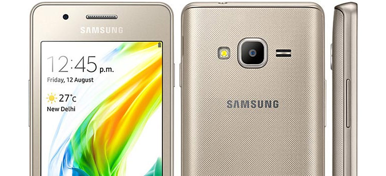 Samsung Tizen smartphone Z2 officially launched in India, INR 4,590