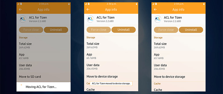 tizen-acl-sd-card