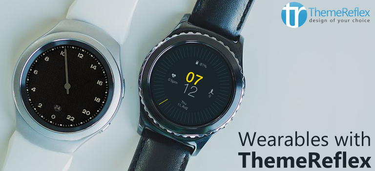Wearable with ThemeReflex