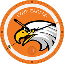 Lyari Eagles smartwatch face for Samsung Gear S3 and Samsung Gear S2