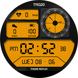 TRG20 Professional – Samsung Gear S3 and Samsung Gear S2 watch faces