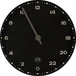 The Slow watch face for Samsung Gear S3 and Gear S2