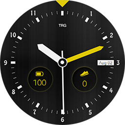 TRG 18 Sports watch face for Samsung Gear S3 and Samsung Gear S2