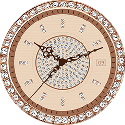TRG22 Diamond watch face for Samsung Gear S3 and Samsung Gear S2