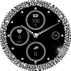 Diamond Sports smartwatch face for Samsung GearS2 and GearS3