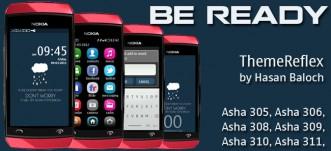 Be Ready theme for Nokia Asha 305, Asah 306, Asha 308, Asha 309, Asah 310, Asha 311 full touch devices